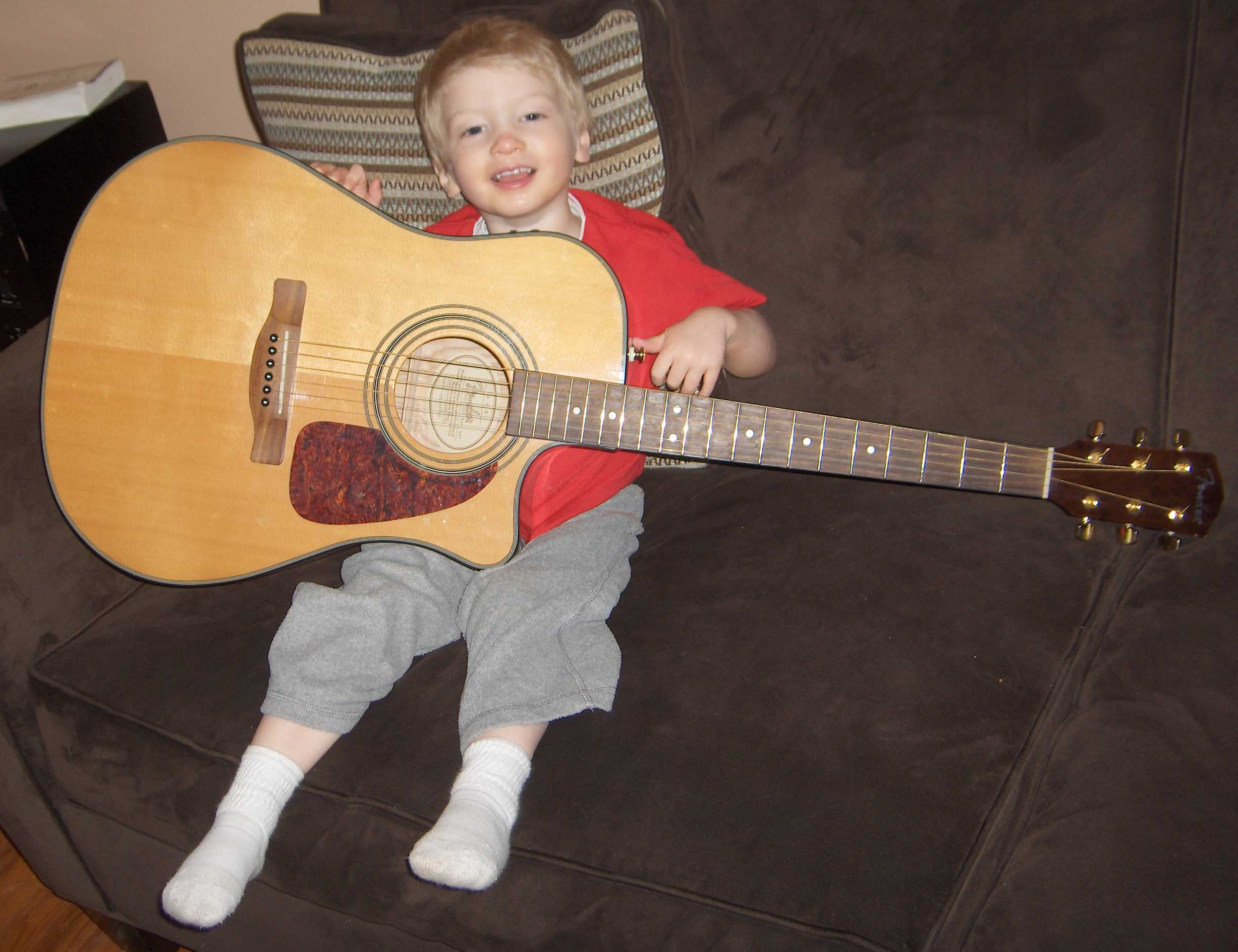 your child's first guitar