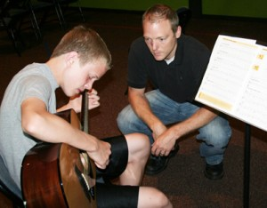 Guitar Teacher Matt Crandall, teaching guitar lessons in Kansas City, MO