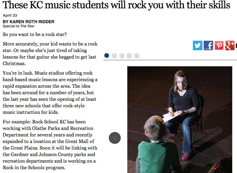 Kansas City Star Rock Star
