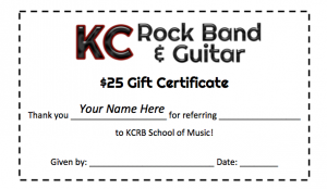 Referral Gift Certificate