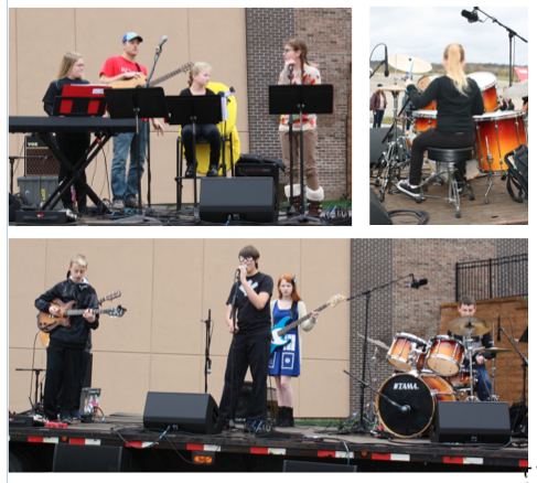 KCRB Performing at Halloween Party