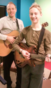 Alec guitar student of the month